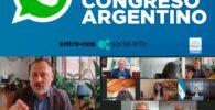WHATSAPP-ANTE-EL-CONGRESO-ARGENTINO